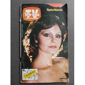1979 Rocio Durcal En Portada Revista Tele Guia