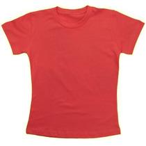 Kit 10 Camisetas Infantil Baby Look Lisa Menina