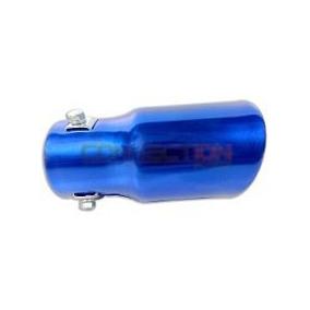 Ponteira Esportiva Para Descarga De Carro Azul