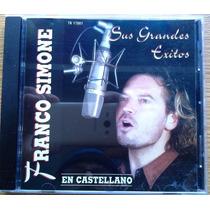 Cd Franco Simone Sus Grandes Exitos - Nuevo