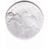 Moneda De 20 Centavos 1853 Chile Plata Reparada