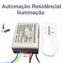 Controle Remoto P Automação / Iluminação Residencial Lf Shop