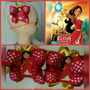 Lazos Princesas Disney Elena, Frozen, Bella, Shimmer Y Shine