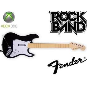 Guitarra Fender Xbox 360 Pc Rock Band Guitar Hero Original