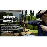 4h De Festa Htc Vive Realidade Virtual - Aluguel Locação