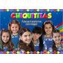 Painel Para Festa Infantil 1,00x1,50 Metros Chiquititas