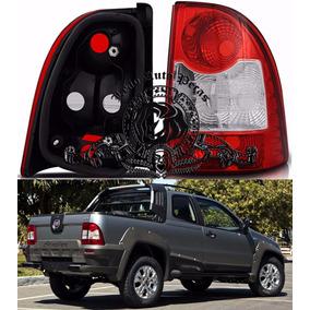 Lanterna Traseira Fiat Strada 2009/2013 Nova Lado Dir.