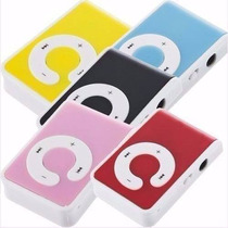 Reproductor Mp3 Micro Sd Tipo Shuffle Portable Plastico