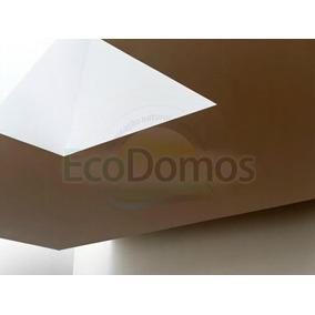 Domos Claraboias De Acrílico 0,90x0,90m
