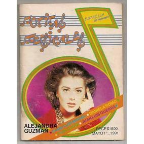 Alejandra Guzmán Luis Miguel Revista Notitas Musicales May91
