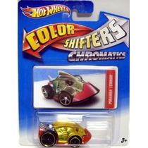 Hot Wheels Color Shifters Piranha Terror Cambia Color