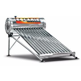 Calentador Solar De Acero Inoxidable 12 Tubos Solaris