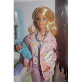 Barbie Enfermeira Happy Family Nao Gravida Vem Com 2bebes