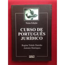 Livro - Curso De Português Jurídico - 9º Ed. - Edi. Atlas