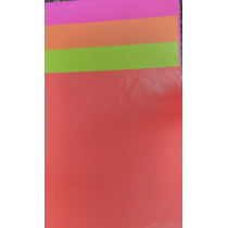 Papel Seda 50x70cm Fluorescente/sortido 100 Unidades