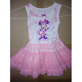 Vestido Minnie Mouse Disney Store Bebe Hermoso Vestido Mimi