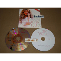 Jenni Rivera Joyas Prestadas 12 Fonovisa Cd Doble Pop Delux
