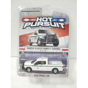 Greenlight Hot Pursuit Camioneta 2015 Ford F-150 Blanco