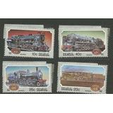 Estampillas De Trenes De Sudáfrica Nuevas