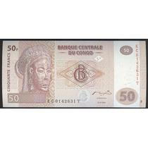 Congo 50 Francos 2007. Unc