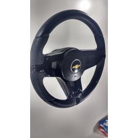 Volante Mustang Prisma Monza Kadett Celta C/ Cubo Preto