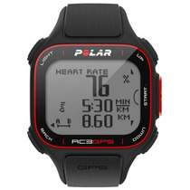 Reloj Con Sensor Gps Frecuencia Cardiaca Polar Rc3 Gps Negro