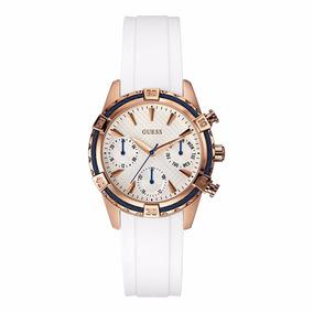 Reloj Guess W0562l1,cronografo 12/24hs Cristal Envio Gratis