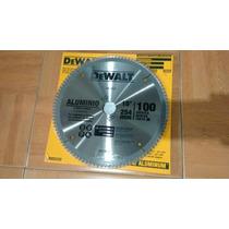 Disco Corte Aluminio 10 100 Dientes Carburo Tungsteno