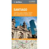 Guía Mapa De Santiago. De Dios Guías De Viaje.