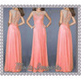 Vestido Side Luxury Festa/casamento/debutante Importado