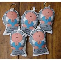 30 Llaveros Angelito Personalizado Souvenir Bautismo Nene