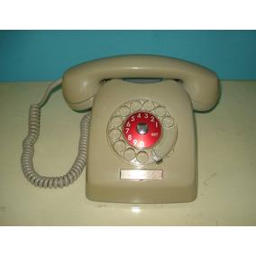 Antiguo Telefono A Disco Marca Ericsson. Funciona Muy Bien