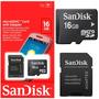 Cartão De Memória Micro Sd 16gb Galaxy,iphone,samsung,lg,ace