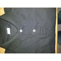 Chemises En Algodón Color Negro Para Caballeros.tallas S.m.l