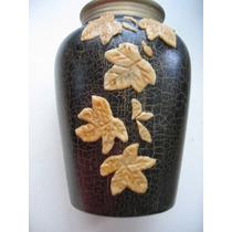 Floreros Potiches Jarrones De Ceramica Artesanal 15 Y 12 Cm