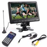 Monitor Tv 10 Pulgadas Video/antena Usb/sd/mmc Ideal Cctv