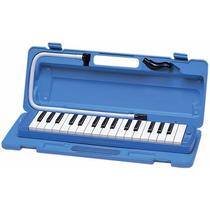 Pianica Flauta Melódica Yamaha P32d Blue Azul Nueva