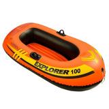 Bote Inflável Infantil Barco Boia Intex Explorer 100