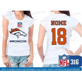 Jersey Nfl Denver Broncos Branca - Camisetas e Blusas no Mercado ... 52145aa520a4c