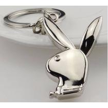 Playboy Conejo Fino Y Elegante Llavero Metalico 1276