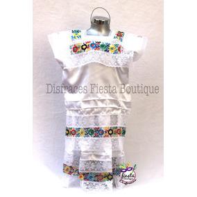 Vestido Yucatan Vestido Regional Traje Yucateca Disfraz