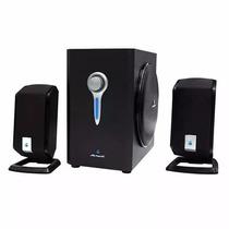 Acteck Axf-200 Sistema De Audio Multimedia 2.1 Rca 3.5 Pc