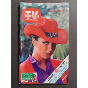 1981 Angelica Maria En Portada Revista Tele Guia