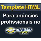 60 - Templates Html Anuncio Profissional Mercadolivre