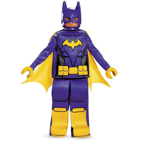 Disfraz Niña Batichica Batman Lego La Película Traje