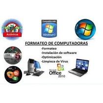 Formateo De Pc Y Laptos
