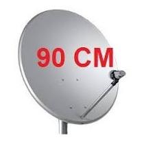 02 Antenas 90 Cm R$ 300.00 Lnb Simples + Cabo Frete Gratis