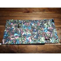 Placa Para Binding, Inlay 10x20cm Celuloide Abalone
