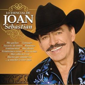 Lo Esencial De Joan Sebastian Disco Cd 3 Discos Cd + Dvd
