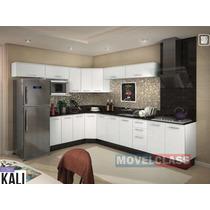 Cozinha Kali Nicioli 100% Mdf - Em Até 12x Sem Acréscimos